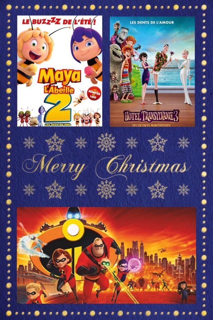 wishlist - Noël - dvd - les indestructibles - Maya l'abeille - hôtel Transylvania