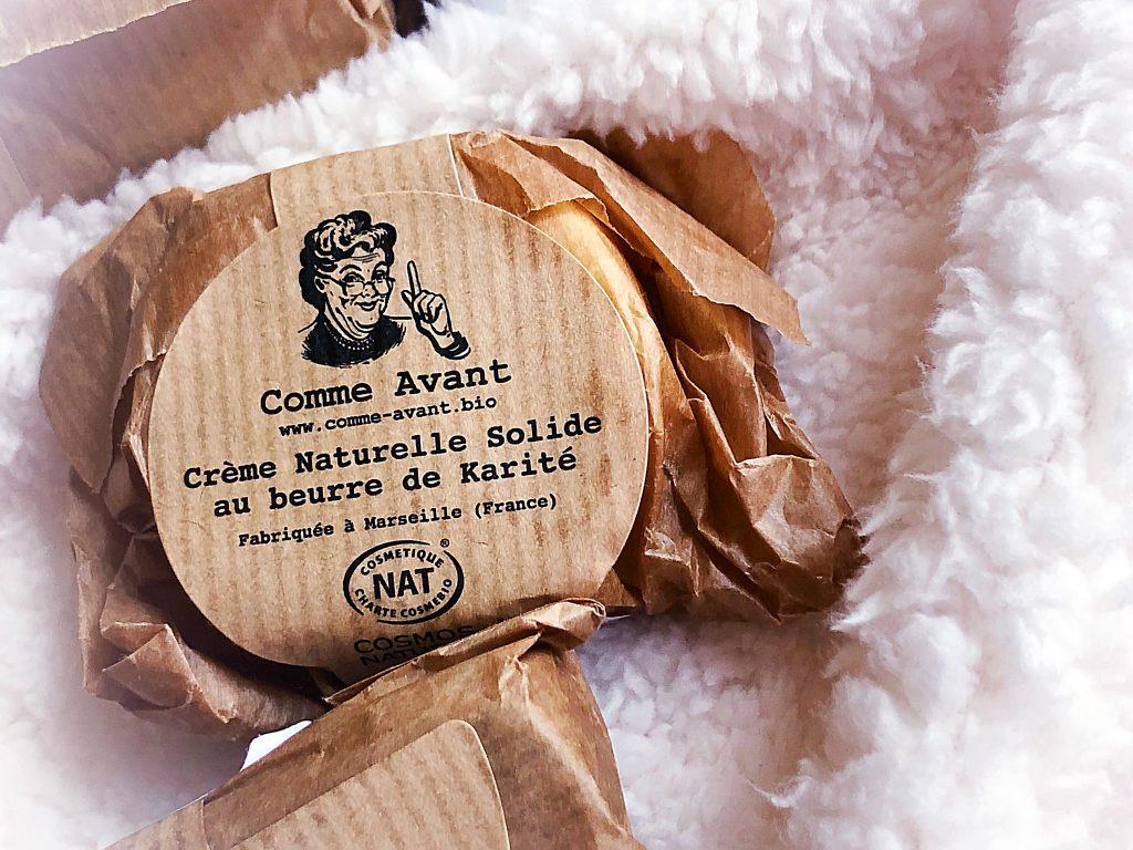 comme avant - boutique - bio - savon artisanal - marseille - crème - beurre de karité