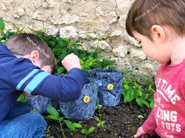 vacances - été - idée activité - jardin