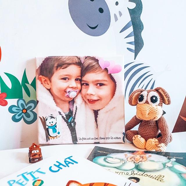 fête des mères - cadeau - maman - MyFujifilm - toile photo