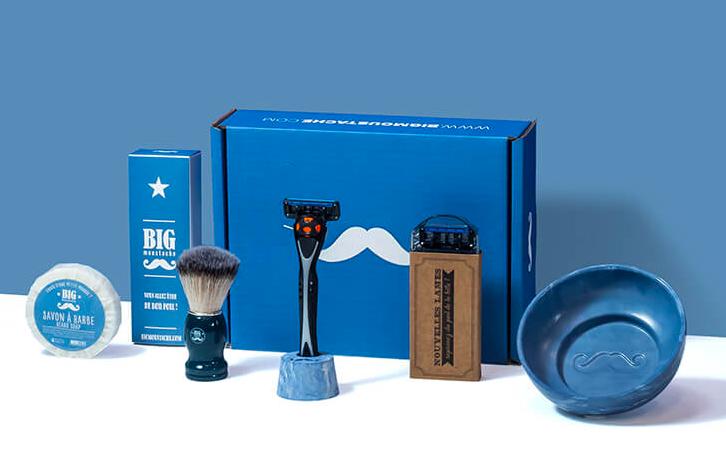 fête des pères - papa - moustache - barbe - box - big moustache