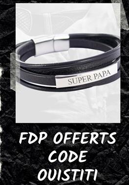 fête des pères - papa - Emotional - bracelet personnalisé