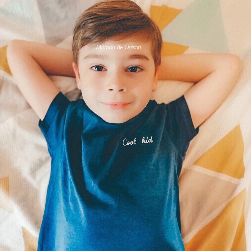 fête des pères - papa - Les Petits Raffineurs - t-shirt Cool Kid