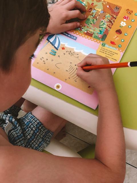 école maternelle - cahier de vacances - magnard