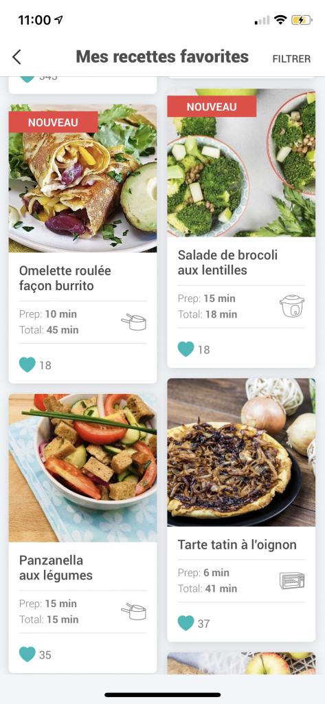 foodle -assistant culinaire - appli - recettes faciles