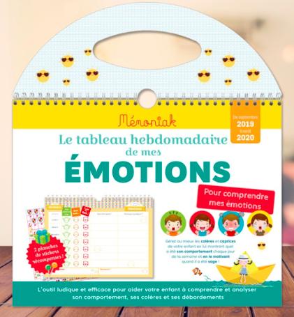 Mémoniak - organisation - émotions - hypersensibilité - gérer ses émotions - émotions de l'enfant