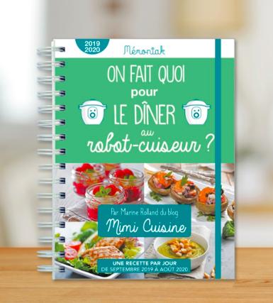 Memoniak - agenda - cookeo - astuces pour organiser la vie de famille - on fait quoi pour dîner - recettes