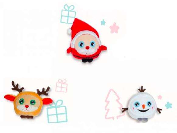 wishlist - noel - idée cadeau - cadeau de noel - Gipsy - Squishimals - peluche - pere noël - renne - bonhomme de neige - cadeau pour un enfant de 3 ans