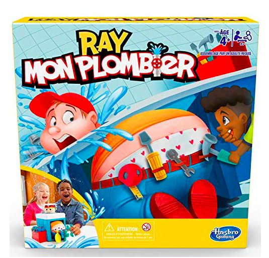 wishlist - noel - idée cadeau - cadeau de noel - Hasbro - Ray Mon Plombier