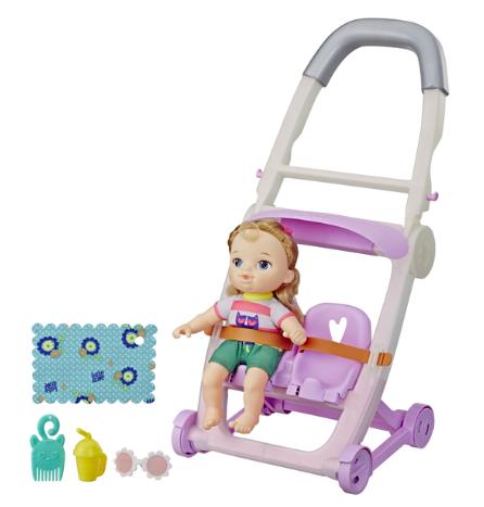 wishlist - noel - idée cadeau - cadeau de noel - Hasbro - baby alive - baby alive litlles - pousette - cadeau pour un enfant de 3 ans