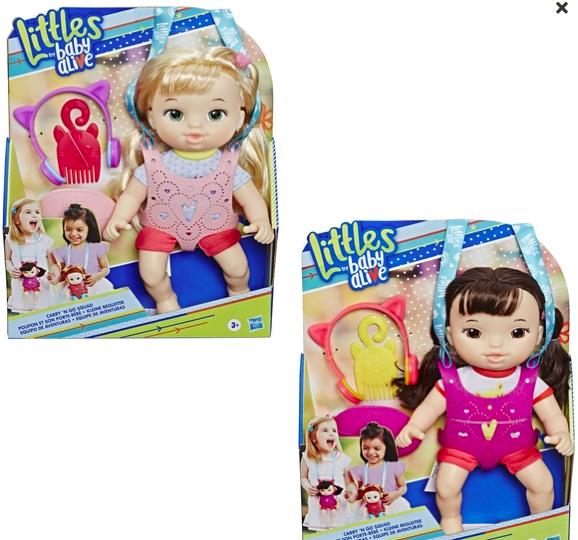 wishlist - noel - idée cadeau - cadeau de noel - baby alive littles - baby alive - Hasbro - cadeau pour un enfant de 3 ans