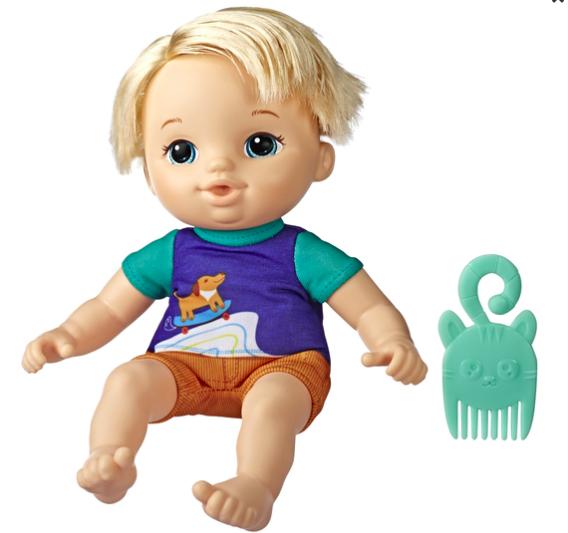 wishlist - noel - idée cadeau - cadeau de noel - baby alive littles zach - baby alive - Hasbro - cadeau pour un enfant de 3 ans