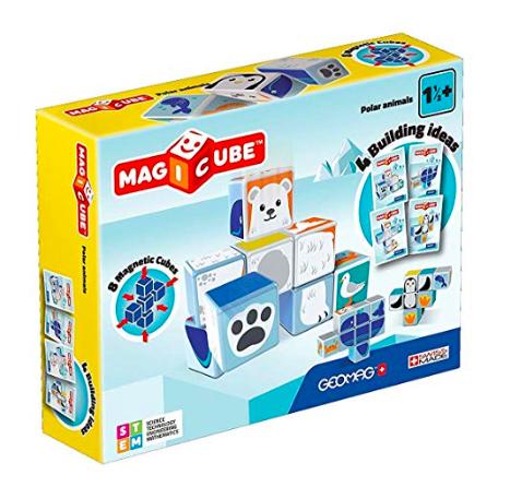 wishlist - noel - idée cadeau - cadeau de noel - geomag - magicubes - animaux polaires - cadeau pour un enfant de 3 ans