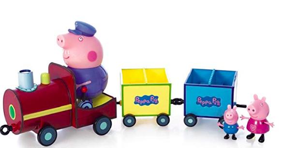 wishlist - noel - idée cadeau - cadeau de noel - peppa pig - papy pig - train de papy pig - cadeau pour un enfant de 3 ans