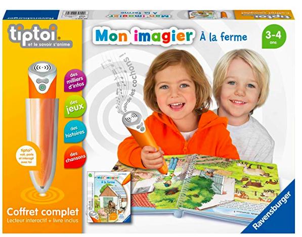 wishlist - noel - idée cadeau - cadeau de noel - ravensburger - tiptoi - stylo interactif - vie à la ferme - cadeau pour un enfant de 3 ans