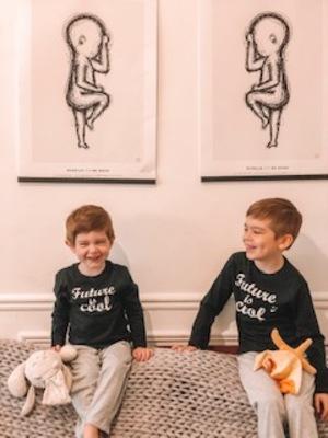 2019 - Birthposter-cadeau de naissance - duo - frères -complicité fraternelle