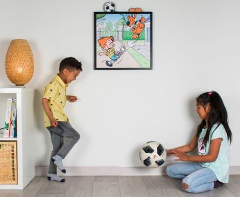 Chambre enfant-deco chambre-Funky Frame-tableau-Boule et Bill