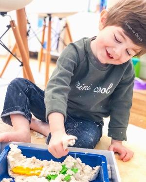 Sable magique-activité enfant-idée activité enfant-activité du mercredi-emoi emoi - mini cool