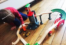 brio - train - bois - Grand Circuit Plateforme Multimodale