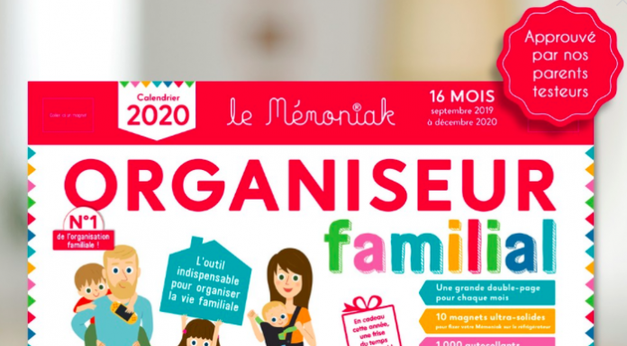 organisation - Memoniak - organiseur - calendrier - astuces pour organiser la vie de famille - memoniak